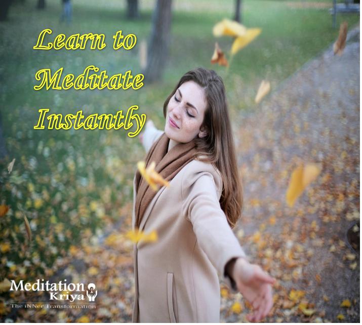 instant meditation kriya meditationkriya